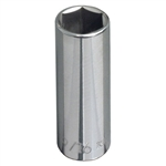 Klein Tools 65711 3/8-Inch Drive  7/16'' Deep 6-Point Socket