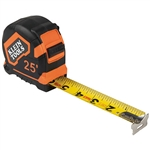 Klein 9125 Tape Measure 25-Foot Single-Hook