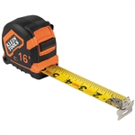 Klein 9216 Tape Measure, 16-Foot Magnetic Double-Hook