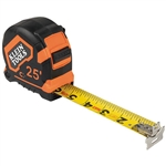 Klein 9225 Tape Measure, 25-Foot Magnetic Double-Hook