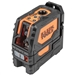 Klein 93LCLG Self-Leveling Green Cross-Line and Red Plumb Spot Laser Level