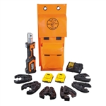 Klein BAT20-7T14 Battery-Op 7-Ton Cable Cutter and Crimper Kit