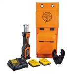 Klein BAT207T1 Battery-Op 7-Ton Crimper, Fixed BG Die