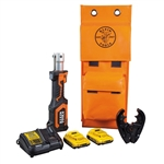 Klein BAT207T23 Battery-Op 7-Ton Crimper, Fixed O Die