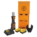 Klein BAT207T234H Battery-Operated Cable Crimper, O+ Die Head, 4 Ah
