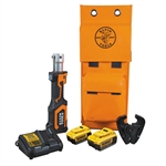 Klein BAT207T24H Battery-Operated Cable Crimper, D3 Groove, 4 Ah