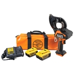Klein BAT20GD14H Battery-Op Cable Cutter, EHS, 4 Ah