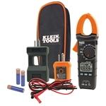 Klein CL120KIT Electrical Tester Kit with Clamp Meter and GFCI Outlet Tester