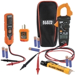 Klein CL120VP Clamp Meter Electrical Test Kit