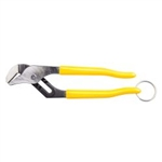 Klein D502-10TT Pump Pliers, 10'', with Tether Ring
