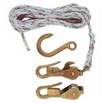 Klein H1802-30 Block & Tackle-Block & Tackle with Guarded Hooks