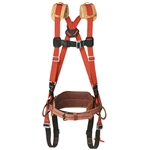 Klein LH5278-29-M Harness with Deluxe Floating Belt, 29M