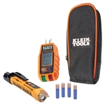 Klein RT250KIT Premium Non-Contact Voltage and GFCI Receptacle Electrical Test Kit