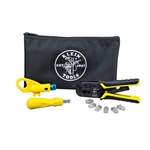 Klein VDV026-212 Twister Pair Installation Kit with Zipper Pouch