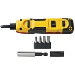 Klein Tools VDV427-807 Punchdown Multi-Tool with 110/66 Blade & WorkEnds
