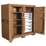 112 JOBMASTER Cabinet With Drawers, 54.9 cu ft by Knaack