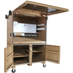 "119-01 Field Station 60"" x 42"" x 82"", 120.7 cu ft by Knaack"