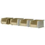 482 Accessory Short Plastic Bins (4 pcs) For 119-01 by Knaack
