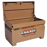 KNAACK 4824 Jobsite Chest, 48 x 24 x 23 In, Steel, Tan