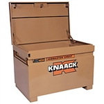 KNAACK 4830 Jobsite Chest, 48 x 30 x 29 In, Steel, Tan