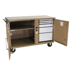 58 STORAGEMASTER Heavy Duty Rolling Work Bench by Knaack