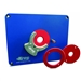 Kreg PRS3034 - Kreg Precision Router Table Insert Plate w/ Level-Loc Rings by Kreg Tool Company