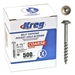 "Kreg SML-C150-500 Pocket Screws - 1-1/2"", #8 Coarse, Washer-Head, 500ct"