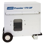 L.B. White CS170ASDN220151 Ductable Tent Portable Gas Heater, BtuH 170000, 1200 cfm, LP/NG