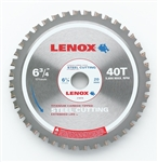 "Lenox Saw Blade 21878ST634040CT 6-3/4"" X 40 Tooth Steel Cutting Blade"