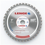 "Lenox Circular Saw Blade ST700038CT 7"" X 38 Tooth Steel Cutting Blade"