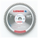 "Lenox Circular Saw Blade TS700068CT 7"" X 68 Tooth Thin Steel Cutting Blade"