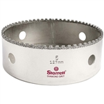 "KD0500-N 5"" Diamond Grit Hole Saw 1-1/5"" Depth by Starrett"