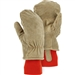 Majestic 1636 Winter Lined Leather Freezer Mitten with Thick Insulation