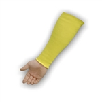 Majestic 3145-14 Cut Resistant Kevlar Sleeve, 2-Ply, Medium Weight, 14 in., Size 14, Yellow