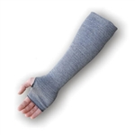 Majestic 3147-18TH 18 in. 2- Ply Cut Resistant Sleeves made with Dyneema, Thumb Hole