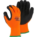 Majestic 3396HOT Polar Penguin Winter Lined Glove with Foam Latex Palm, Dozen