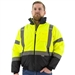 Majestic 75-1313 Hi-Viz Waterproof Jacket with Quilted Liner, ANSI 3, R