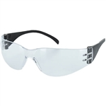 Majestic 85-1001CRA Crosswind Safety Glasses with Clear Anti-Fog Lens with Black Temples