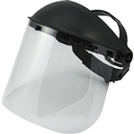 Majestic 85-6101CLR Clear Face Shield Visor 8 in. x 15.5 in.