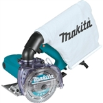 "Makita 4100KB 5"" Dry Masonry Saw, with Dust Extraction"