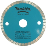 Makita 724950-8D 3-3/8 in. Diamond Blade, General Purpose - Stone and Masonry