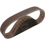 Makita 742305-9 1-1/8 in. x 21 in. Abrasive Belt, 120 Grit, 10/pk