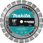 Makita A-94627 14 in. Diamond Blade Turbo Hard Material