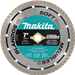 "Makita A-94649 7"" Diamond Blade, Turbo, Soft Material"