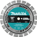 "Makita A-94655 14"" Diamond Blade, Segmented, Soft Material"