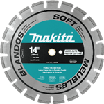 Makita A-94655 14 in. Diamond Blade Segmented Soft Material