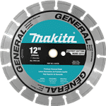 "Makita A-94720 12"" Diamond Blade, Segmented, General Purpose"