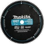 "Makita A-94817 12"" x 1"" 100T Ultra-Coated Miter Saw Blade"