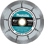 "Makita A-95912 4-1/2"" Dual Sandwich Diamond Tuck Point Blade"