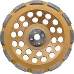 "Makita A-96207 7"" 	5/8""-11 Arbor Anti-Vibration Diamond Cup Wheel, Single Row"